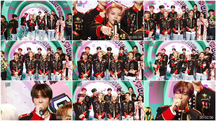 200523 MBC Music Core NCT 127 - Interview