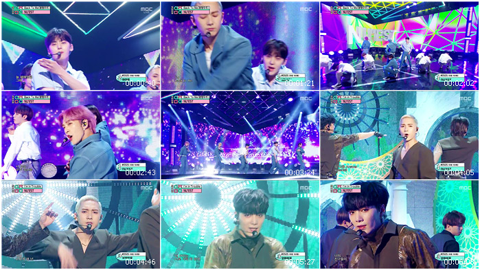 200523 MBC Music Core NU'EST - Back To Me + I'm in Trouble