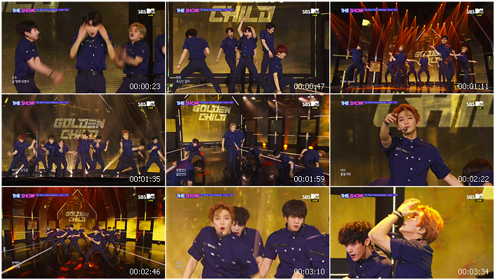 200707 SBS THE SHOW Golden Child - ONE (Lucid Dream)