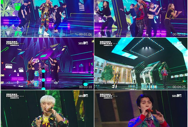 200801 SBS 26th DREAM CONCERT CONNECT D EXO-SC - 1 Billion Views (with EXO-L) + Rodeo Station