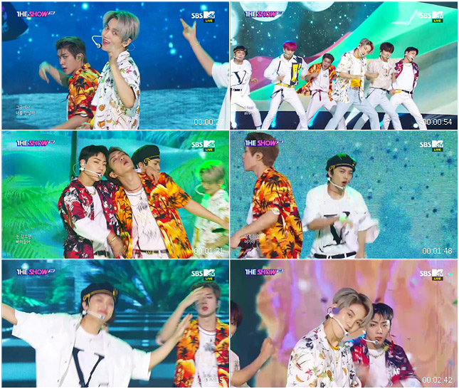 200901 SBS THE SHOW ONF - Sukhumvit Swimming