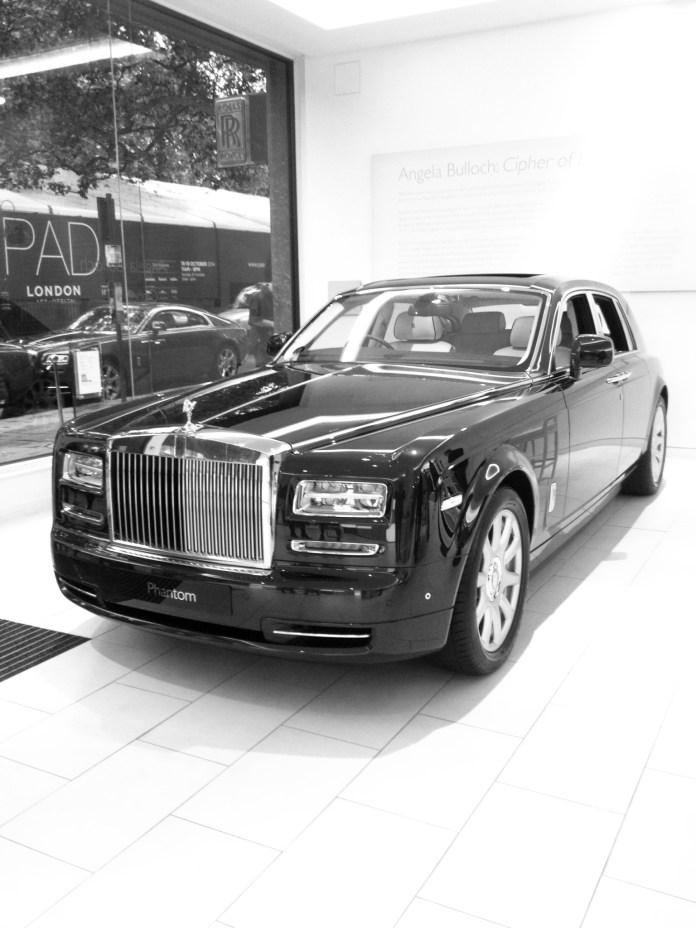 Jermyn Street style. Rolls Royce Phantom