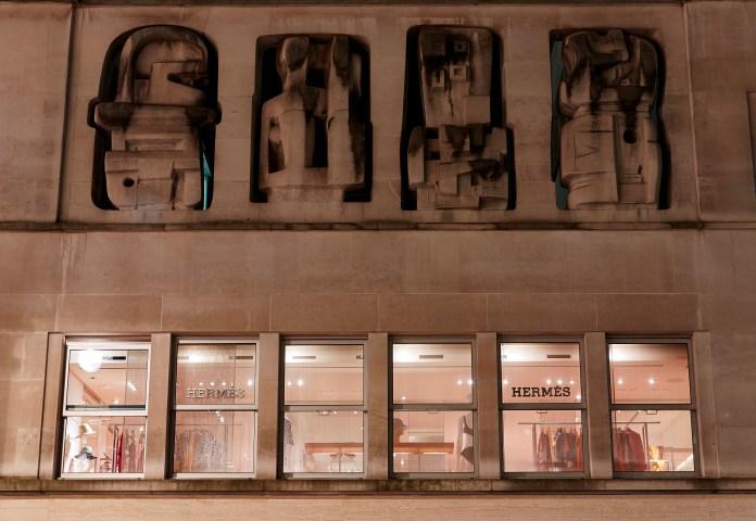 Herm+¿s New Bond Street Henry Moore Frieze