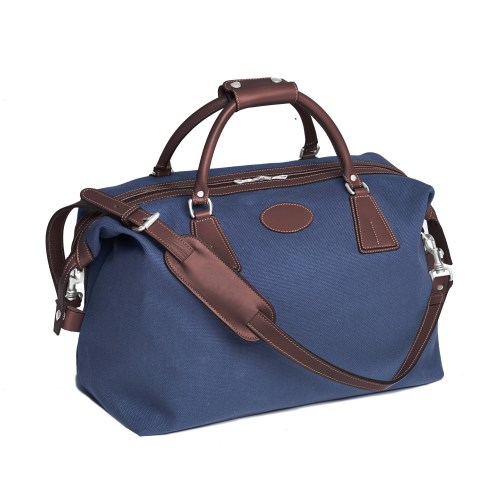 Classic Canvas Holdall in Navy - from -ú295