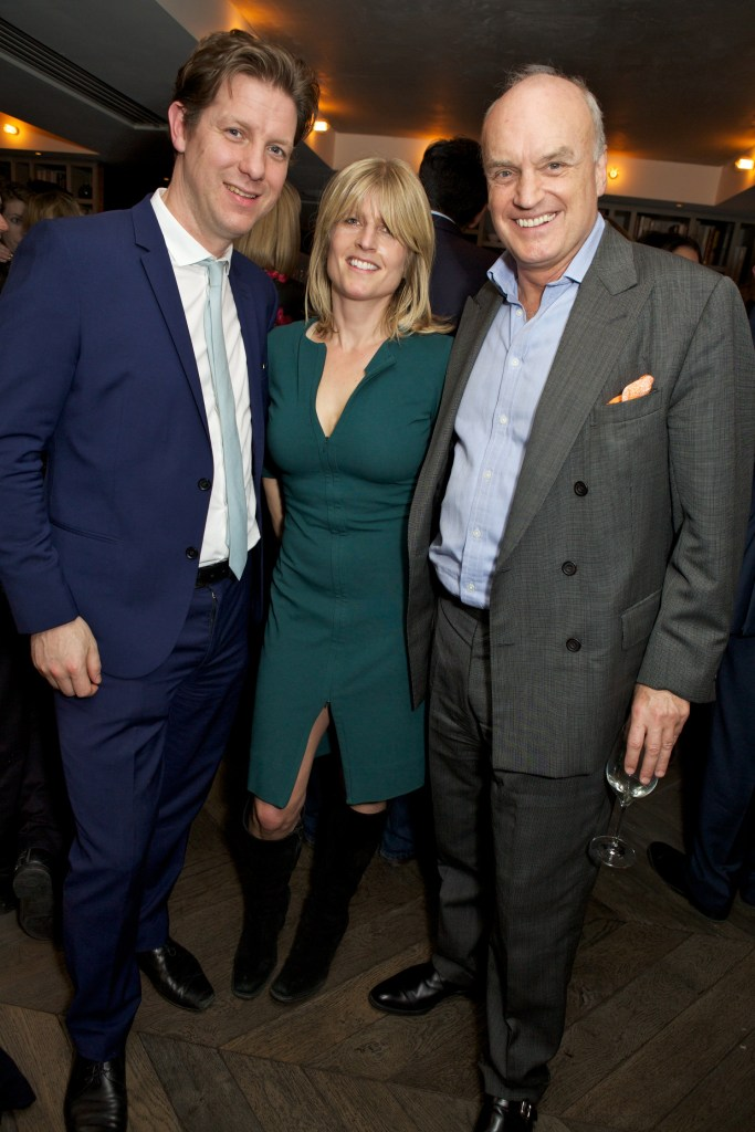 Fraser Nelson, Rachel Johnson & Nicholas Coleridge attend the Spectator Life 3rd Birthday Party at Belgraves Hotel (2)
