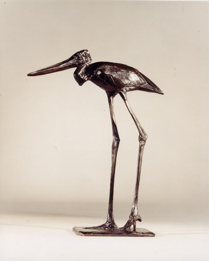 7. Rembrandt Bugatti, Walking Stork, 1912, 14 x 11 inches