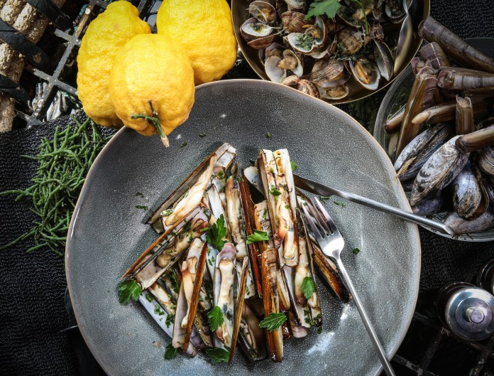 Bouillabaisse Mayfair Razor Clams