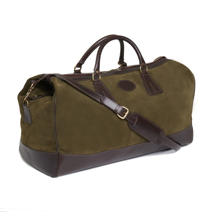 Pickett, Piccadilly Suede Weekend Holdall, --ú750