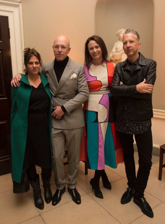 Tracey Emin,Caroline Rush,Jefferson Hack and Dylan Jones-1