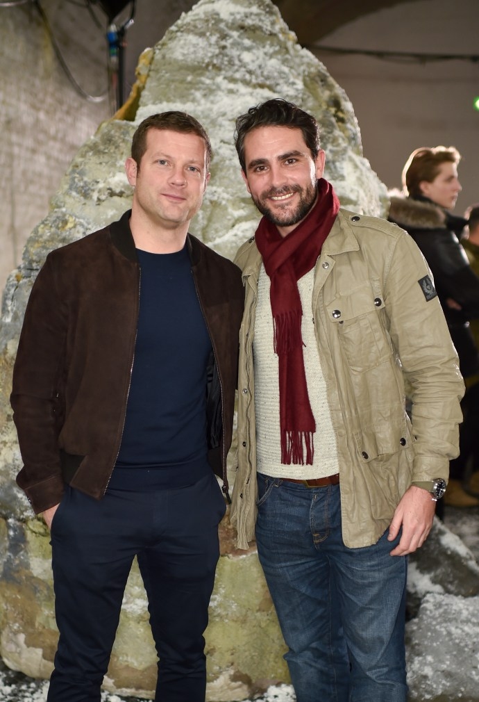 Dermot O'Leary and Levison Wood