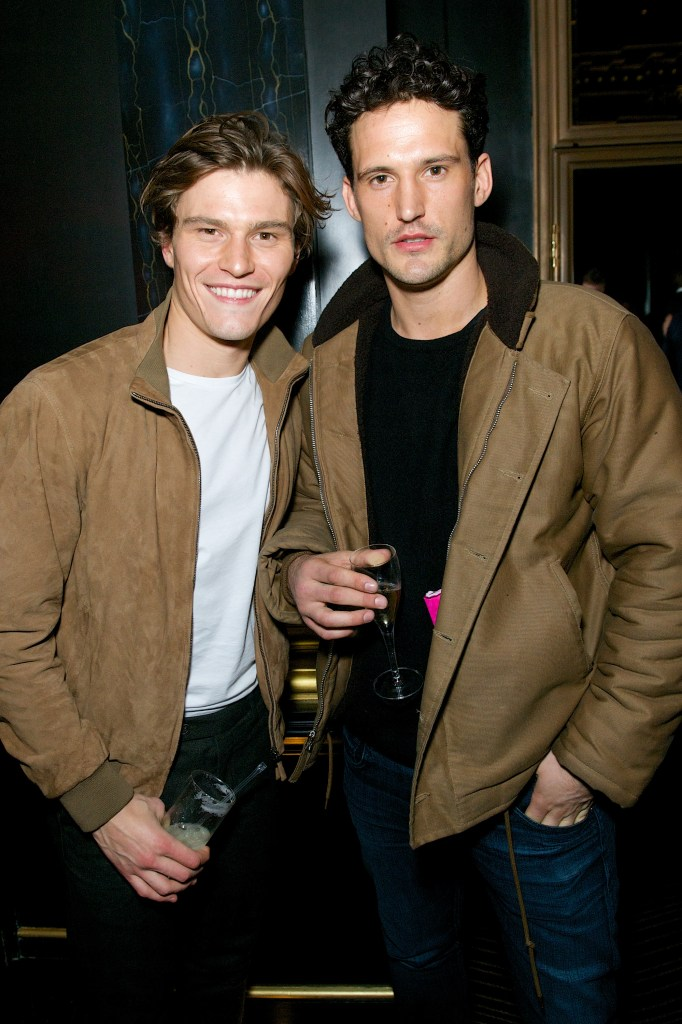 [Oliver Cheshire and Sam Webb. Oliver is wearing Hackett]