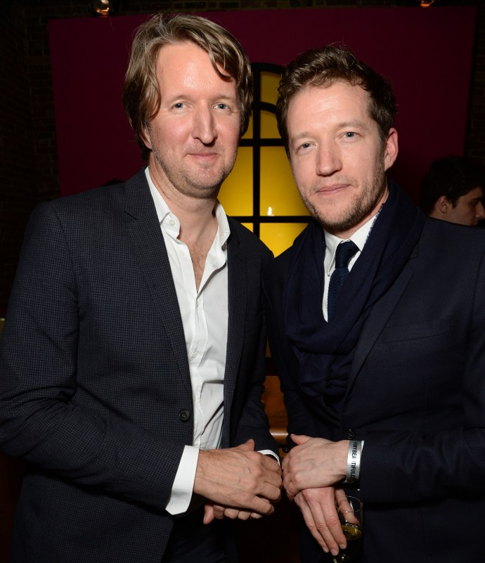 Tom Hooper, Jason Broderick © Richard Young Serpentine Future Contemporaries x Harrods Party 2016 20 February 2016 Serpentine Sackler Gallery and The Magazine
