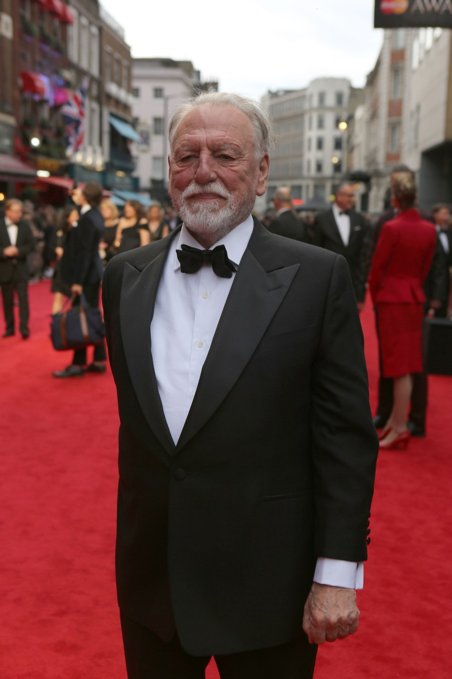 Kenneth Cranham wearing Chester Barrie Official Sponsors of Menswear at the Olivier Awards. Gareth Davies Photographer +44 (0) 7774 899 744 Snap Media Productions Twitter: SNAPMEDIAPRO