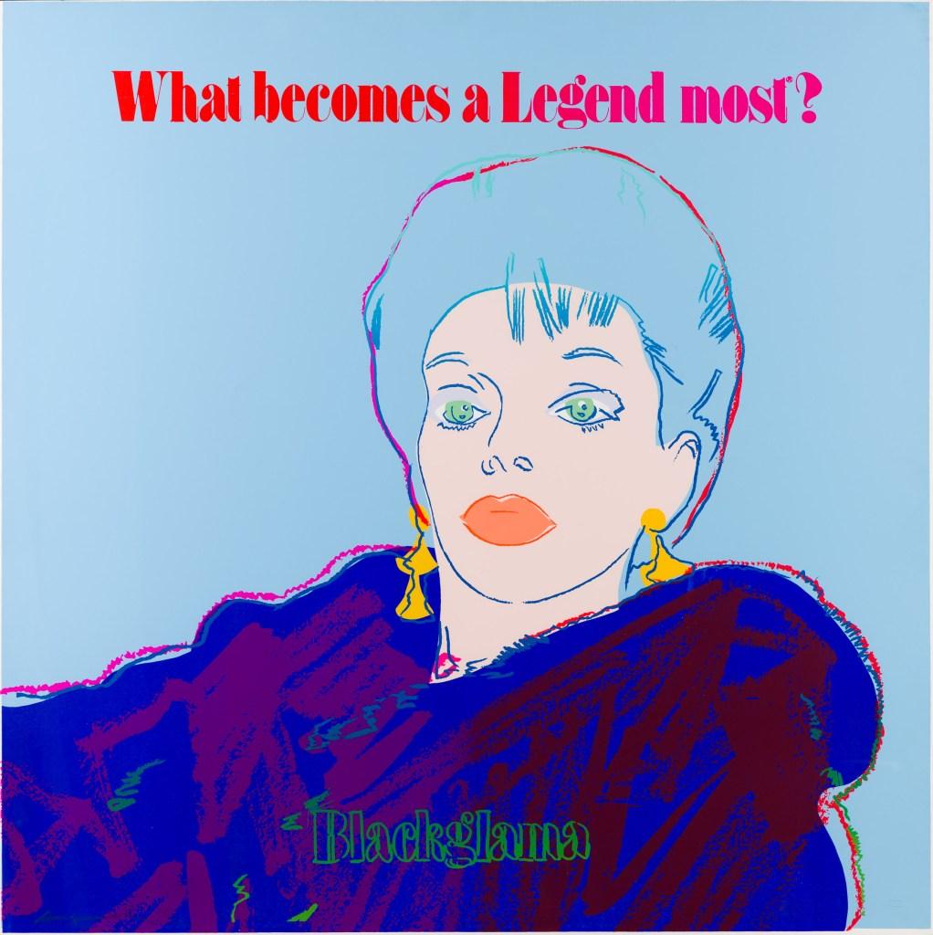 Andy Warhol_Blackglama (Judy Garland)_1985
