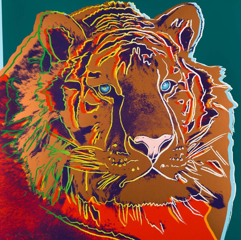 Andy Warhol_Siberian Tiger_1983