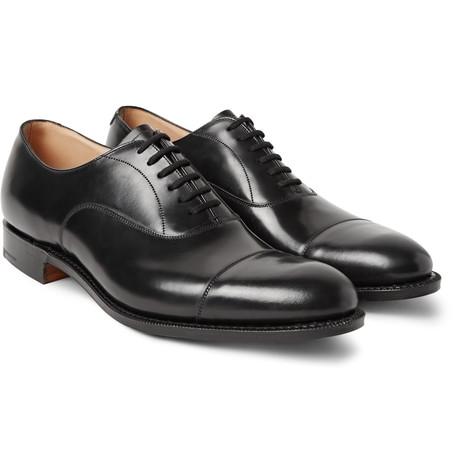 Church S Dubai Polished Leather Oxford Shoes