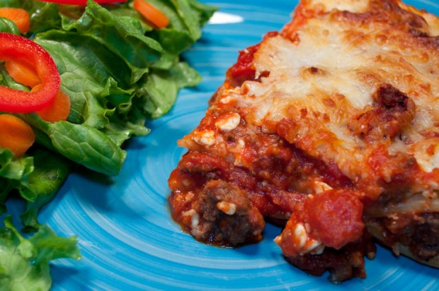 "Lasagna - ""Nature's Most Perfect Food"""