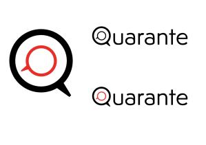 Quarante Logo & Logotype