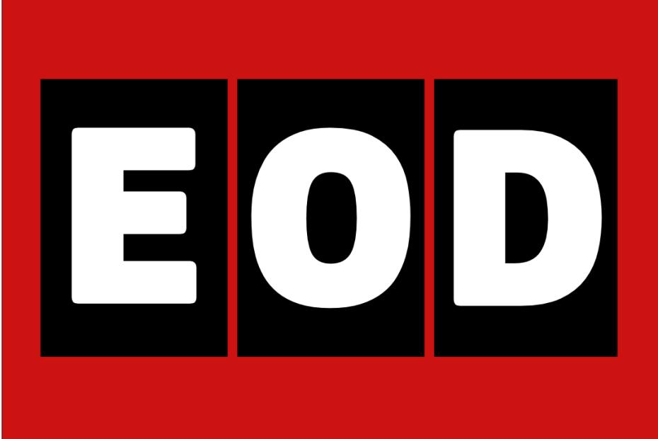 EOD Logo Red