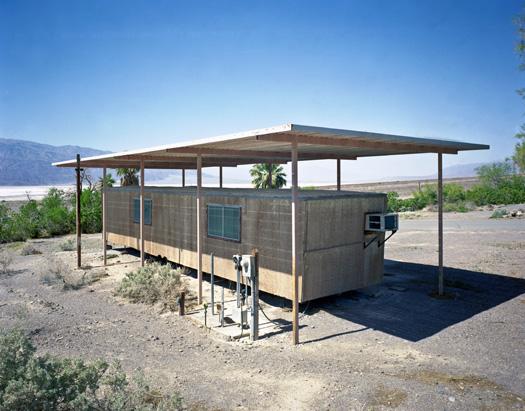 Ook Death Valley heeft een bibliotheek