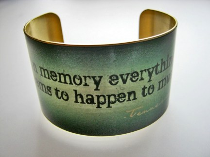 """In memory, everything seems to happen to music"""