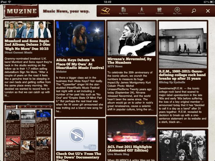 Muzine: muziekmagazine nieuwe stijl