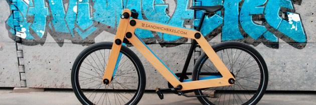Bouw een fiets alsof je een boterham smeert