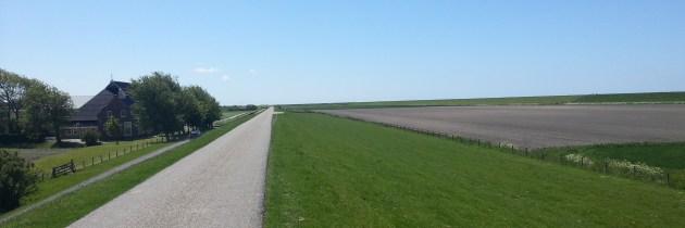 Fietsen in Noord-Fryslân: lijnenspel