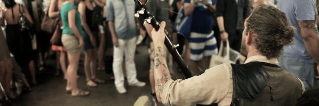 BUSK: prachtige docu over metromuzikanten in New York