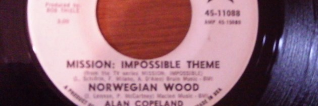 's Werelds eerste mashup? Norwegian Wood vs. Mission: Impossible