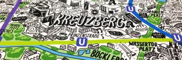 Illustrator maakt prachtige handgetekende kaarten van wereldsteden