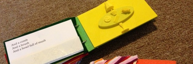 Tactile Pictures Book Project: voelboeken voor blinde kinderen