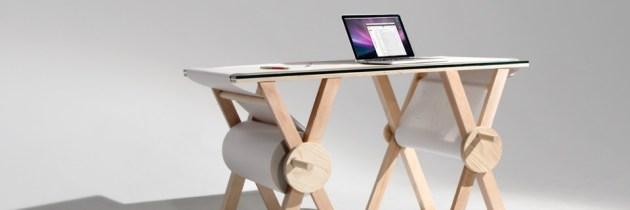 Analog Memory Desk: een bureaukladblok van een kilometer lang