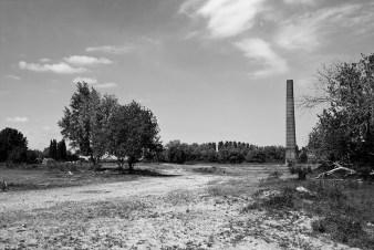 De eenzame schoorsteen