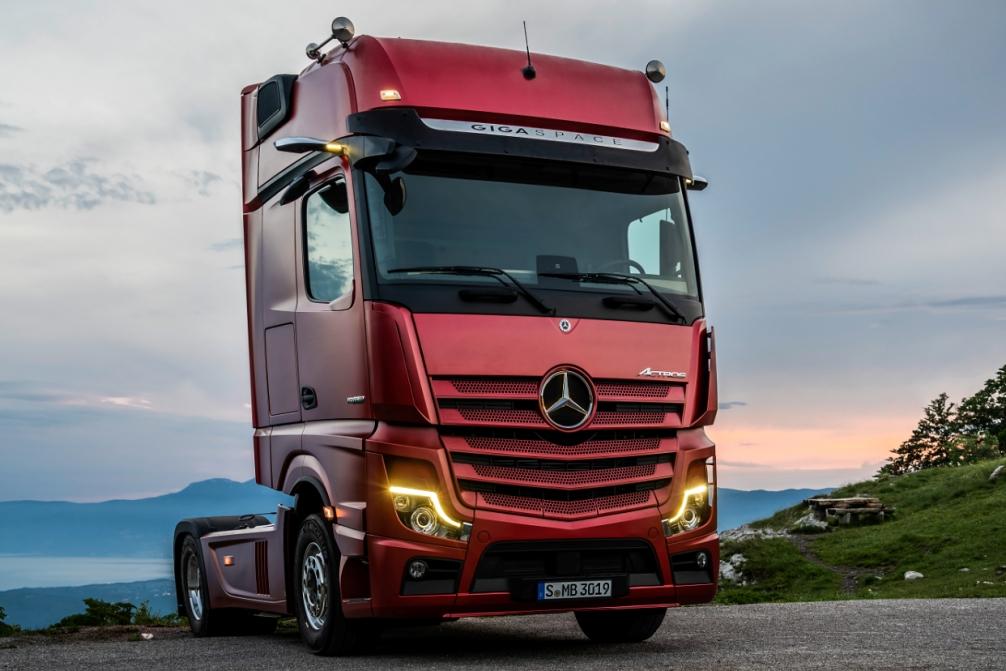 Mercedes Benz Actros NGT 2019