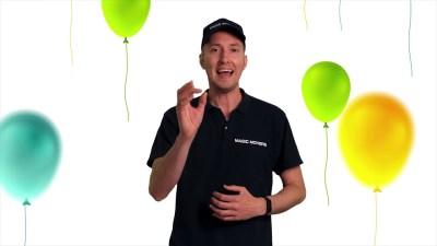 Bestelling bedank video Magic Movers
