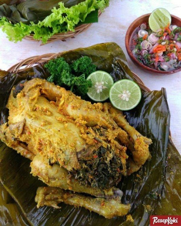 Resep Ayam Betutu Bali : resep, betutu, Resep, Betutu, Pedas, AGENG, ERSANIA, TABANAN