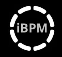 logo iBPM fond noir