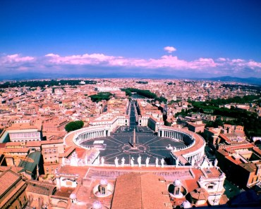 st peter square italy