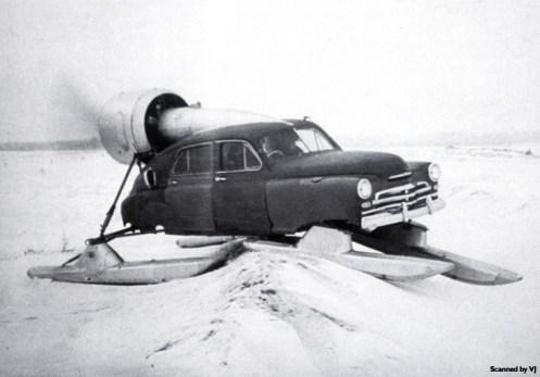 A 1956 Pobeda sledge