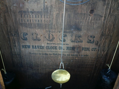 New Haven Clock Co Labels  A Chauncey Jerome Clock Collector