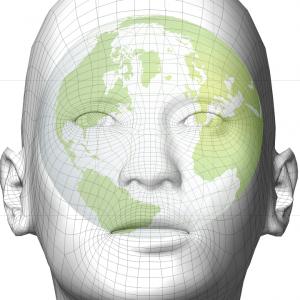 homme globe