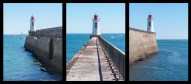 31/52 - Life by the lighthouse - triptych