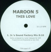 """Maroon 5, """"This Love"""" (Mosk)"""
