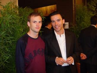 Me (L) + Markus Ebner (R)