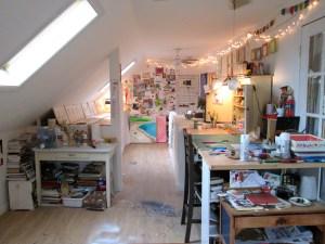 Stephanie Todhunter's studio