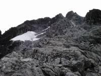 Vista del Flanco Norte del Pico Bolivar, desde Nido de Aguila