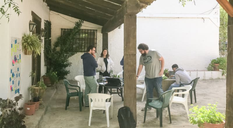 Jerónimo Palacios & Associates off-site meeting at Jaen