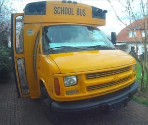 Amerikanischer Schulbus als Wohnmobil