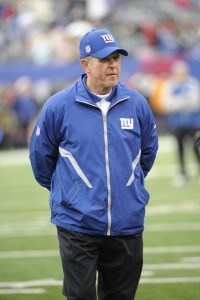 NY Giants Coach Tom Coughlin before Eagles vs Giants Dec 19, 2010